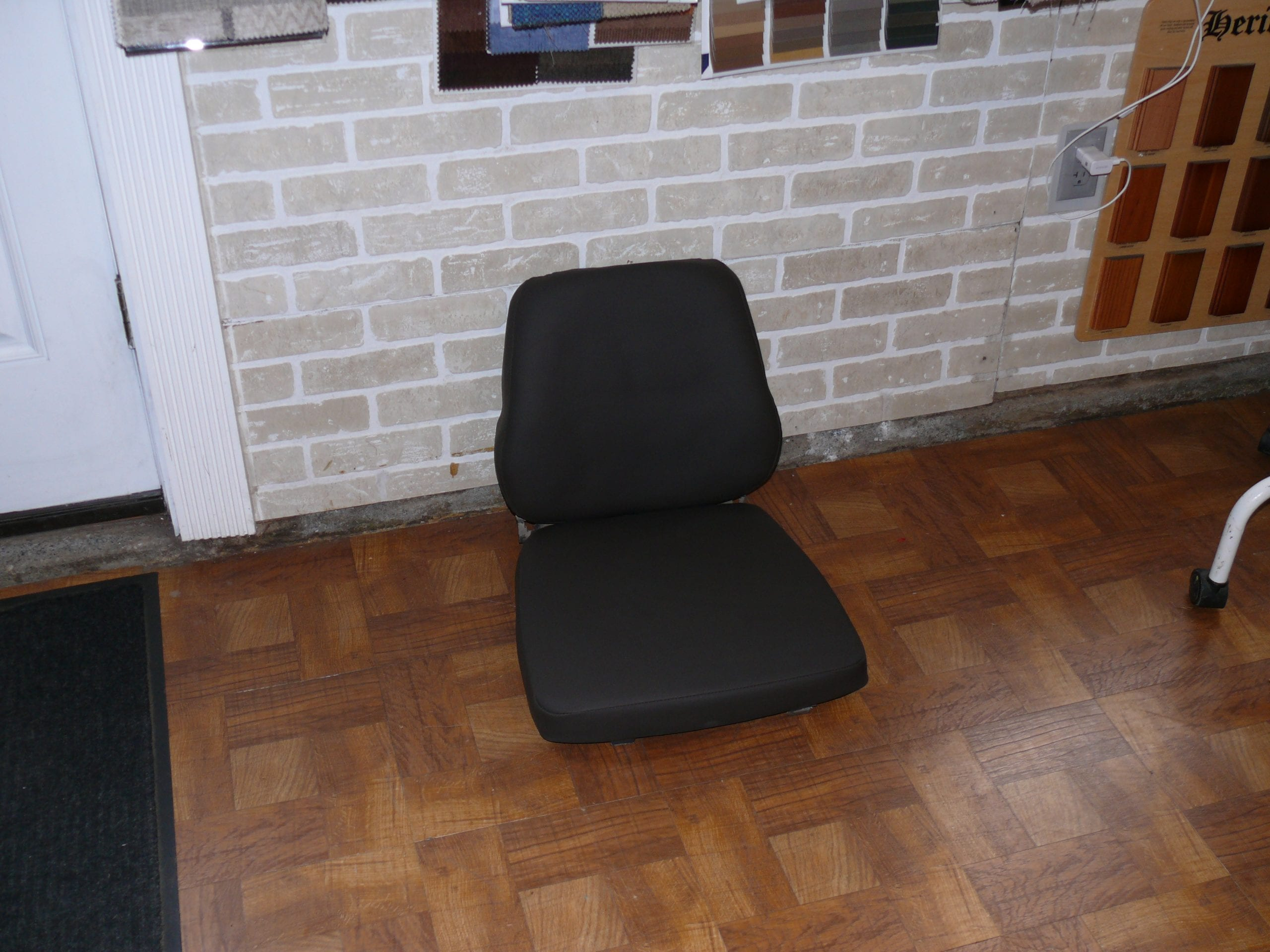 Reupholstery Forklift seat - Upholstery Shop - Quality