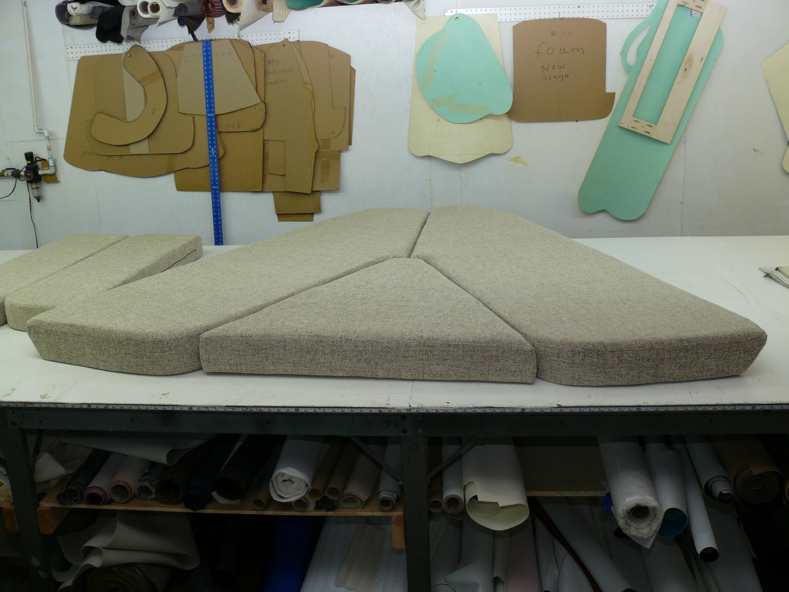 V Berth Cushion For Boat Upholstery Shop Quality