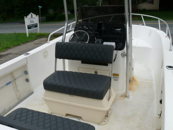A Bayliner Boat Upholstery Design Project Upholstery