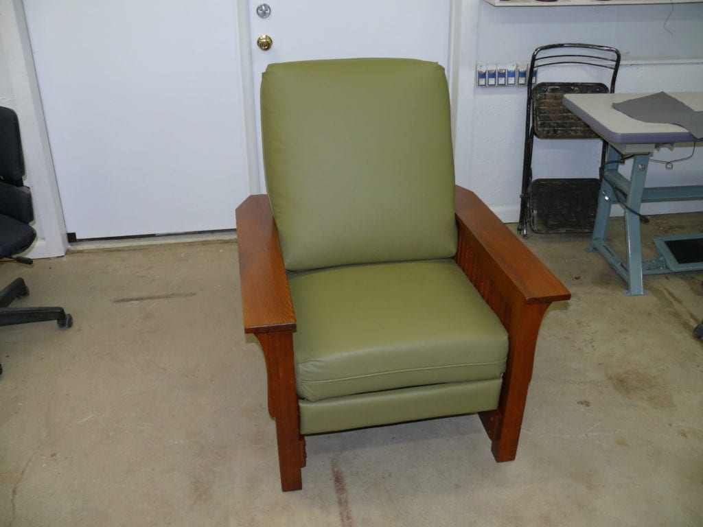 Leather Mission Style Recliner Upholstery Shop Quality