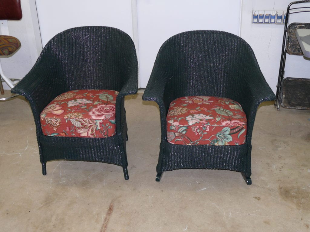 Wicker Furniture Upholstery Shop Quality Reupholstery